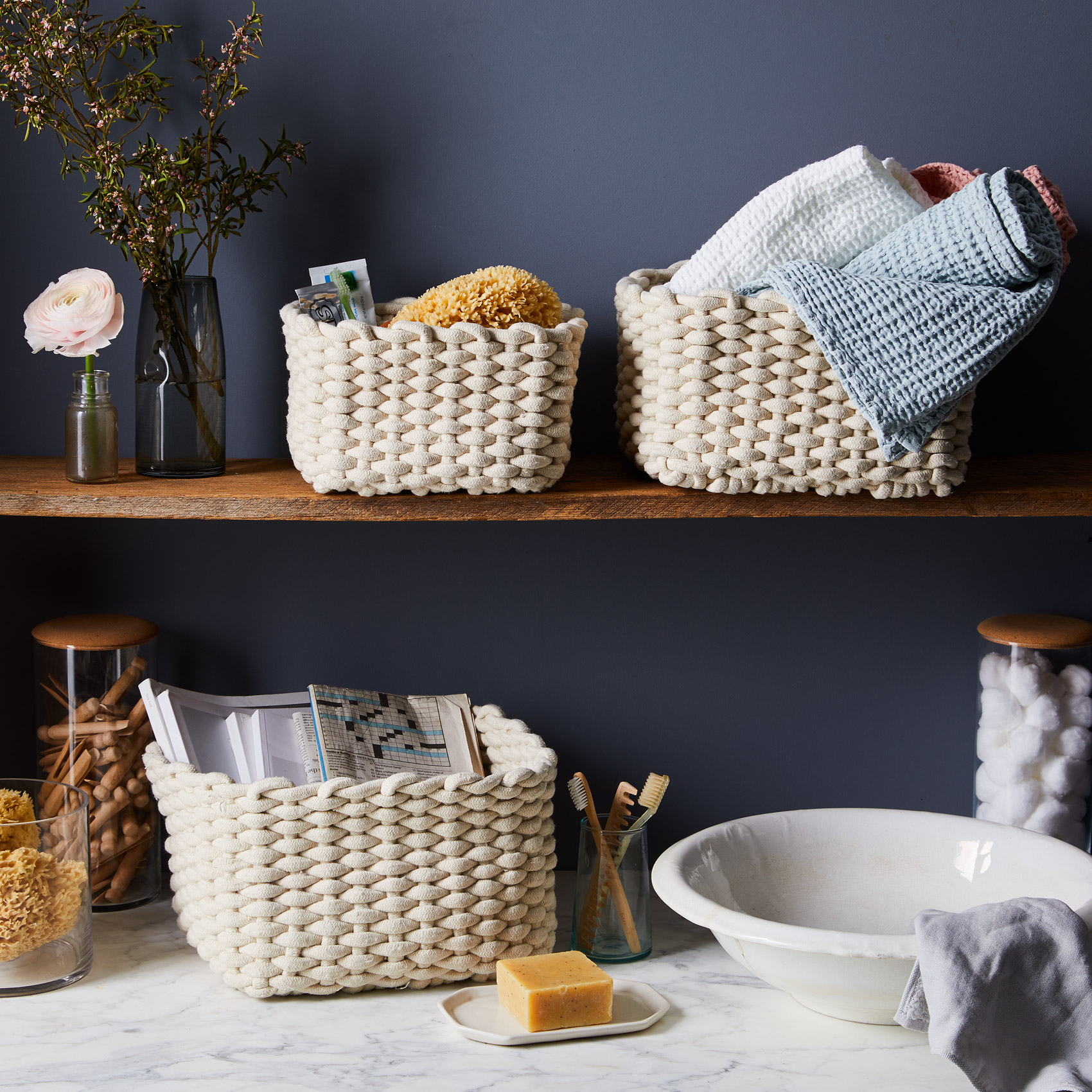blomus_cotton-crochet-nesting-baskets_home_ty-mecham_food52