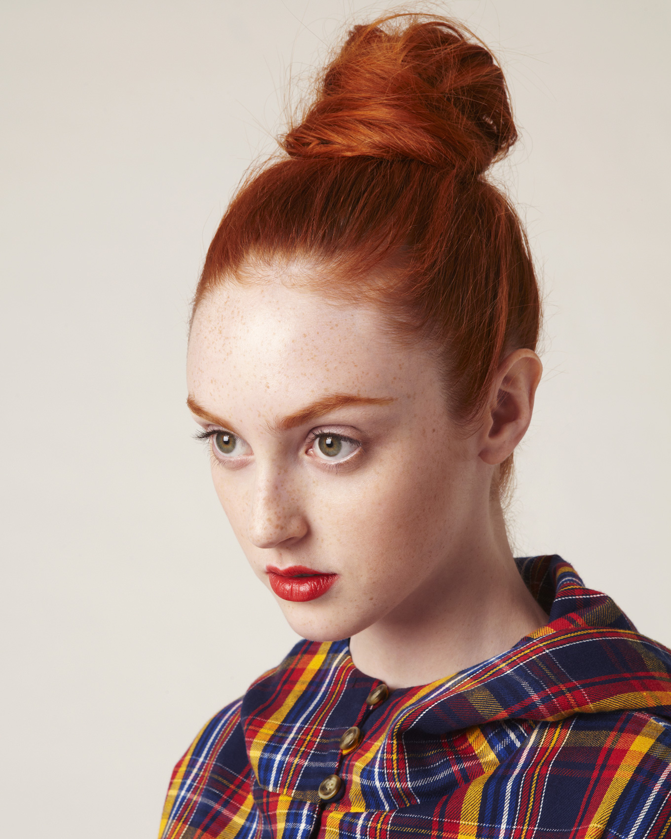 frances-coombe_plaid_fashion_top-knot_ty-mecham_harvey-faircloth_01-01
