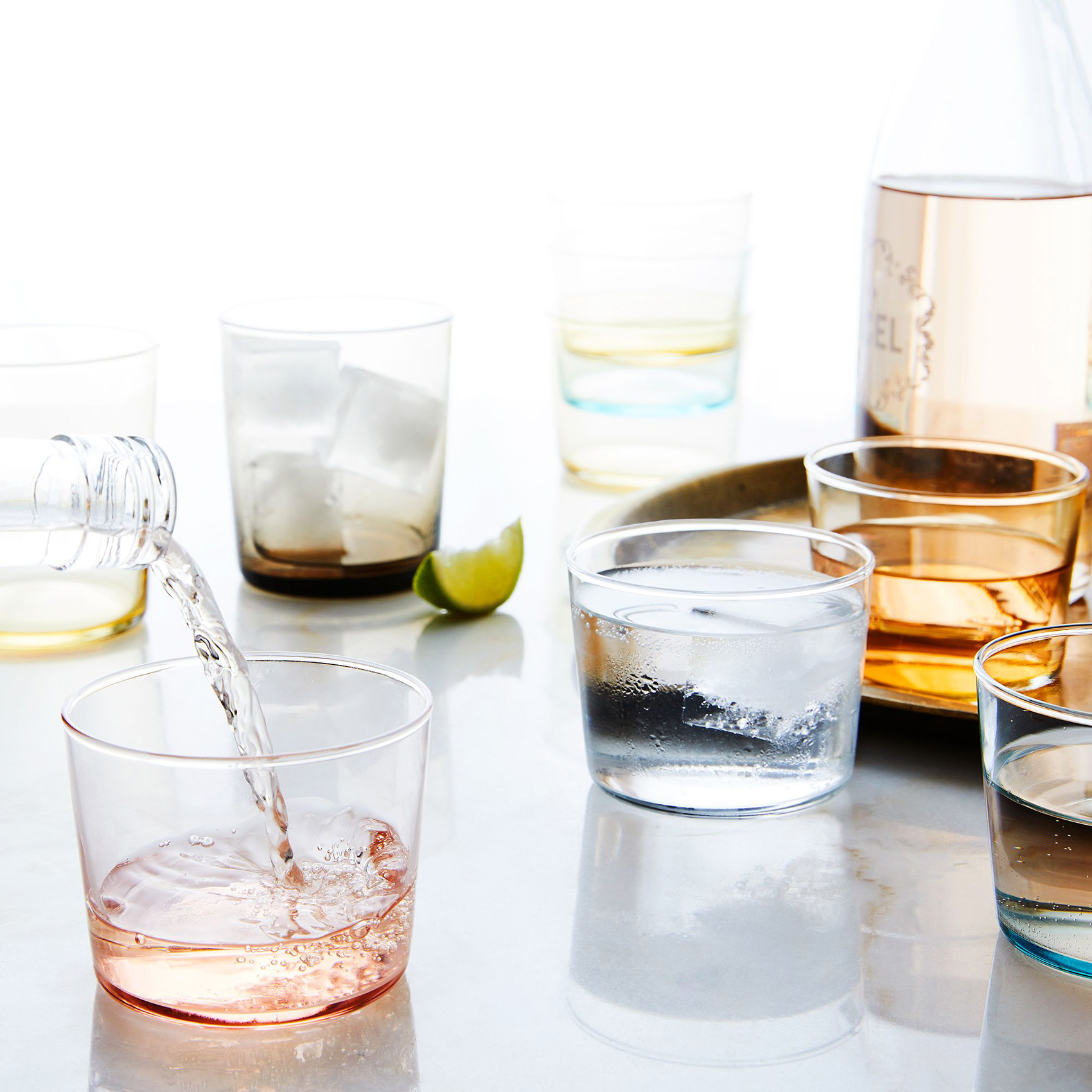 hawkins-new-york_mouthblown-chroma-stackable-glassware_home_ty-mecham_food52